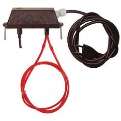 fieger ag elektronisches thermostat mit heizung rot und stromkabel online kaufen. Black Bedroom Furniture Sets. Home Design Ideas