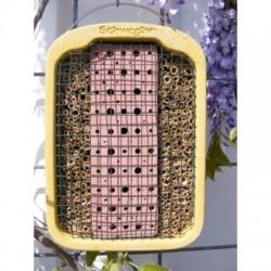fieger ag insektennistwand mit lehm schilf online kaufen. Black Bedroom Furniture Sets. Home Design Ideas