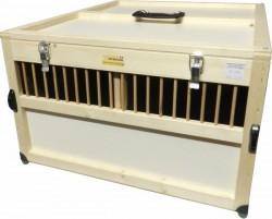 fieger ag gefl geltransportkiste 2 f chern kleine h hner xl online kaufen. Black Bedroom Furniture Sets. Home Design Ideas