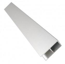 fieger ag 20er aluminiumrohr eloxiert mit 16mm doppelsteg 205cm online kaufen. Black Bedroom Furniture Sets. Home Design Ideas