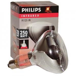 Weisslicht-Infrarotstrahler Philipps 250 Watt