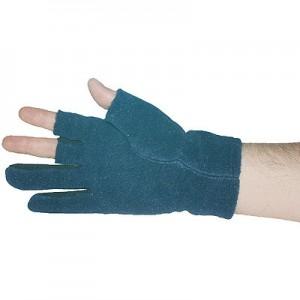 Angler-Handschuhe mit Fleecebeschichtung L