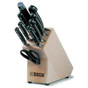 Dick-Holz-Messerblock, geschmiedet