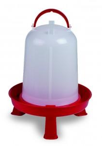 Geflügeltränke 8l mit Füssen & Bajonettverschluss 8 Liter