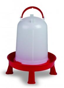 Geflügeltränke 10l mit Füssen & Bajonettverschluss 10 Liter