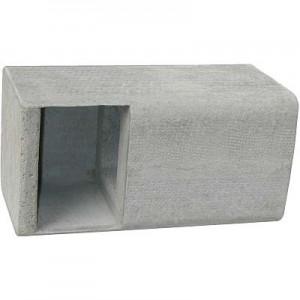 Fassaden-Einbaukasten 1HE (ohne Bügel)