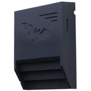 Fledermaus-Gebäudeflachkasten 1FTH schwarz