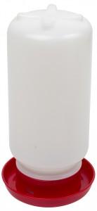 Kunststoff-Tränke mit Schraubverschluss 1l