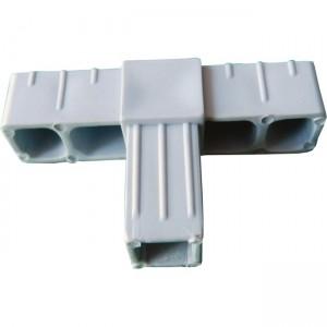 Verbinder für Vierkantrohr - T-Stück 20mm 10Stück 10
