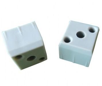 Verbinder für Vierkantrohr - Kupplungs-Stück 20mm 10Stück 1