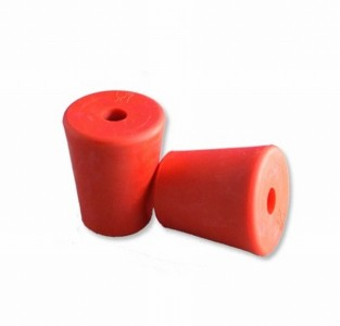 Weichplastik-Stopfen 35/25 mit 9mm Bohrung 35/25