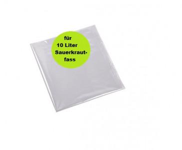 Beutel für Sauerkrautfass aus PE 10 Liter