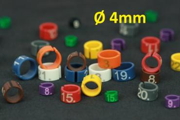 Easyflex-Ringe Ø4mm 1-25 grün | 1 bis 25