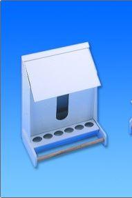 Futterautomat-Kunststoff Kanarien