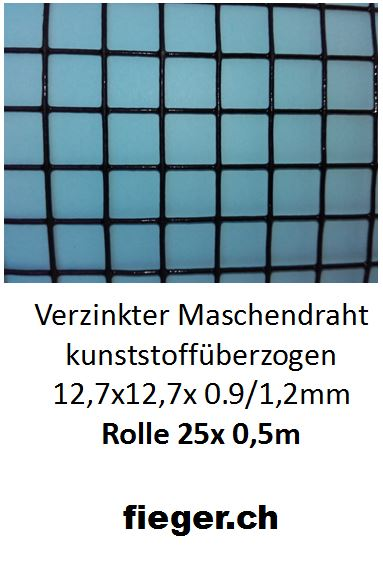 Ausgezeichnet Schwarzer Vinyl überzogener Maschendraht Fotos ...