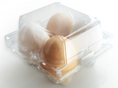4er PET Eierverpackung
