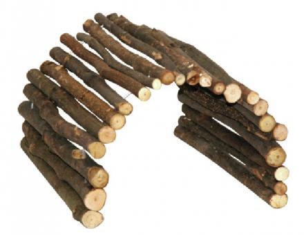 Wachteltunnel aus Holz