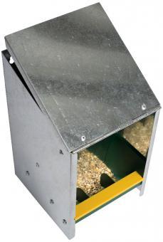 Geflügelfutterautomat  2,5kg verzinkt