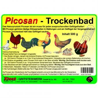 Picosan Trockenbad 3er Pack 3x 500g