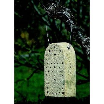 Insektennistblock aus Holzbeton