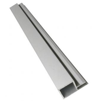 20er Aluminiumrohr eloxiert mit 4mm Doppelsteg 196cm