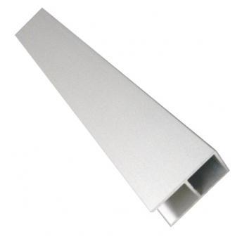 20er Aluminiumrohr eloxiert mit 16mm Doppelsteg 96cm