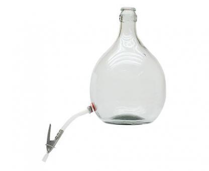 Glasballon 5 Liter mit Auslauf