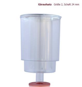 Gäraufsatz Grösse 2 Schaft 24 mm