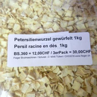 Petersilienwurzel gewürfelt / Persil racine en dés  1kg 1kg