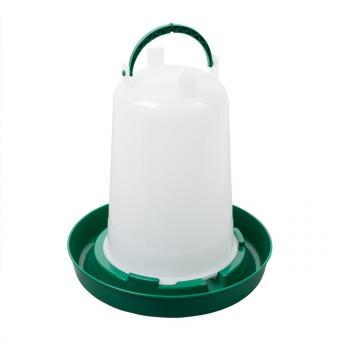 Kunststoff-Stülptränke mit Bajonettverschluss  1,5l grün