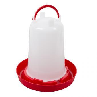 Kunststoff-Stülptränke mit Bajonettverschluss  1,5l rot