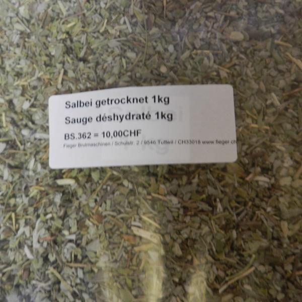 Prächtig Fieger AG   Salbei getrocknet / Sauge déshydraté 1kg   online kaufen &ZQ_24